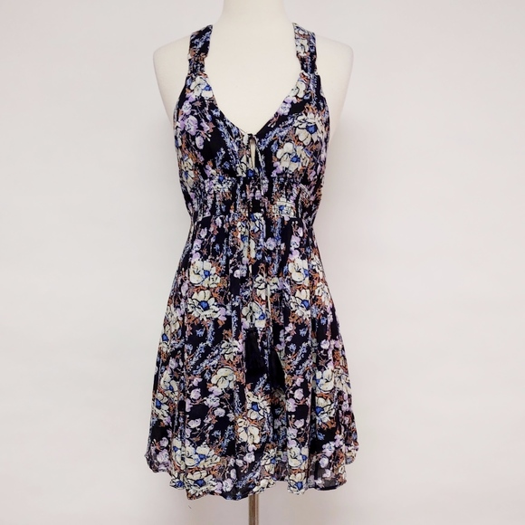 Free People Dresses & Skirts - free people | floral washed ashore mini dress XS